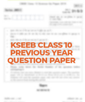 KSEEB Class 10 Mathematics Previous year question paper 1 2020